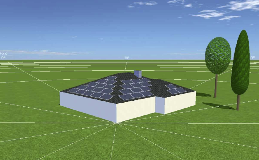 3D-Auslegung Photovoltaik