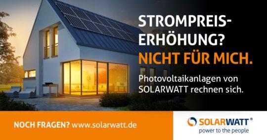 Solarwatt Werbung